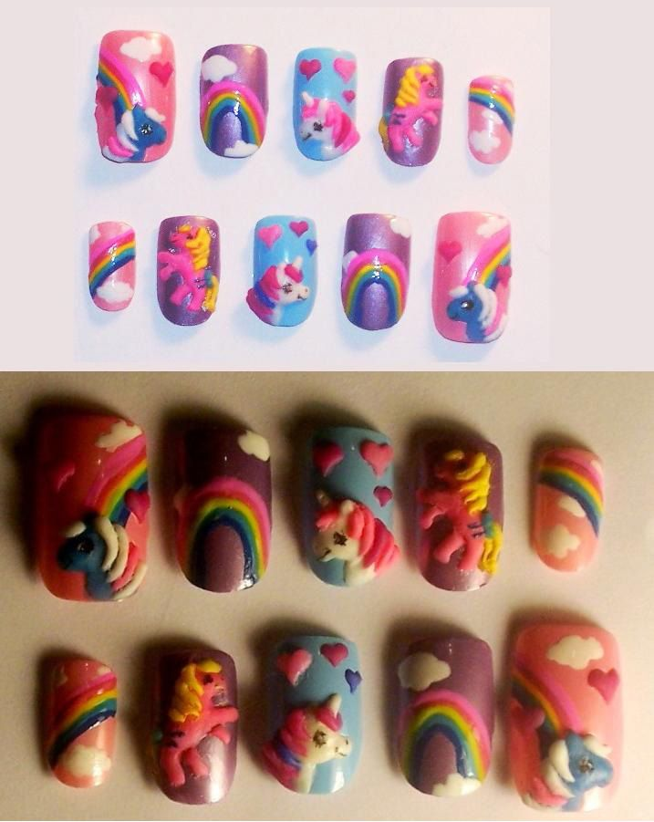 My Little Pony nails by ~The-Lady-of-Kuo on deviantART   Style ...