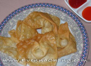 Pangsit Goreng Happy Cooking With Evenna Chang Food Yummy Food Indonesian Food