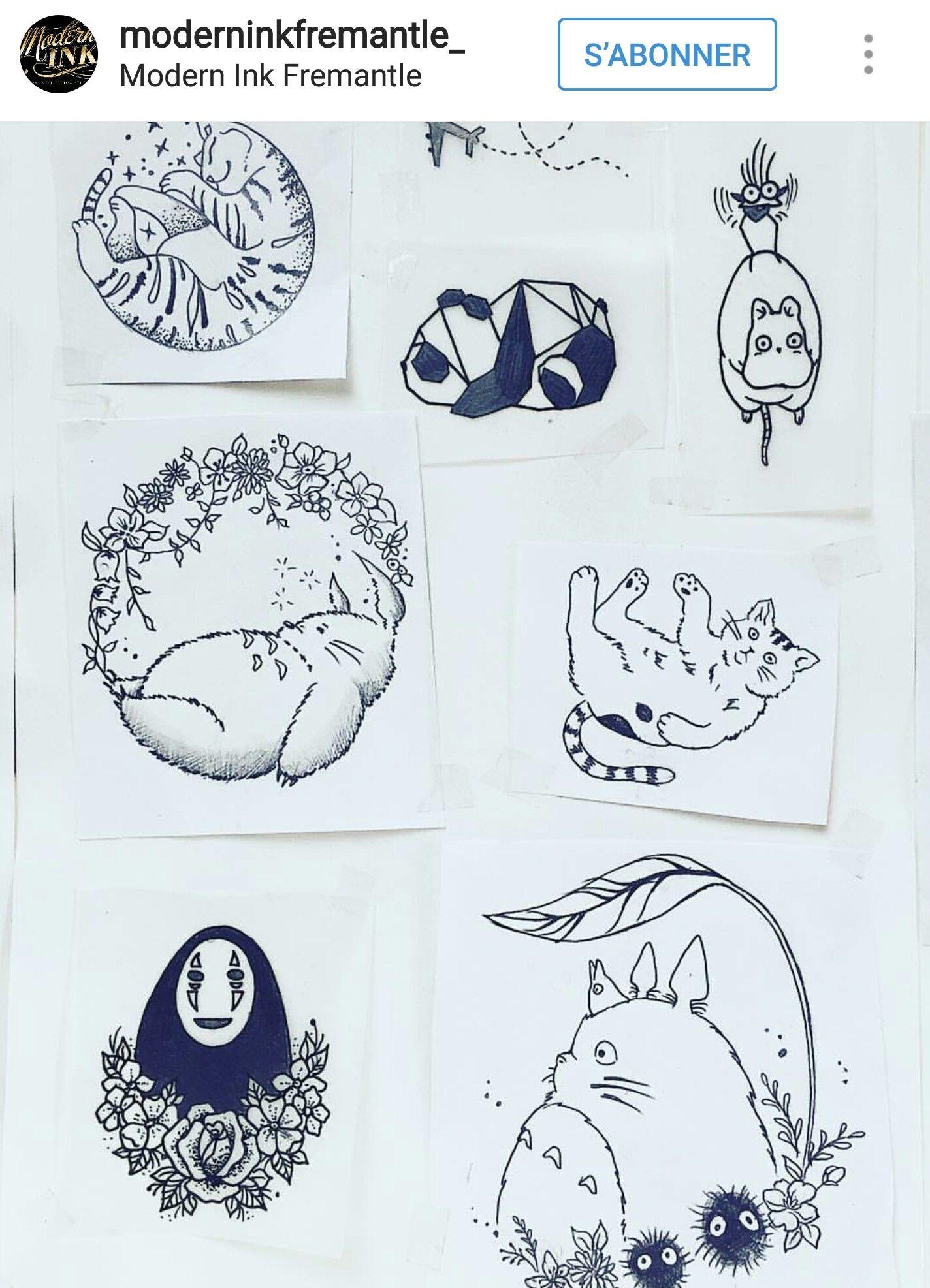Pin L I S S E T T E Ghibli Tattoo Studio Ghibli Tattoo Studio Ghibli Art