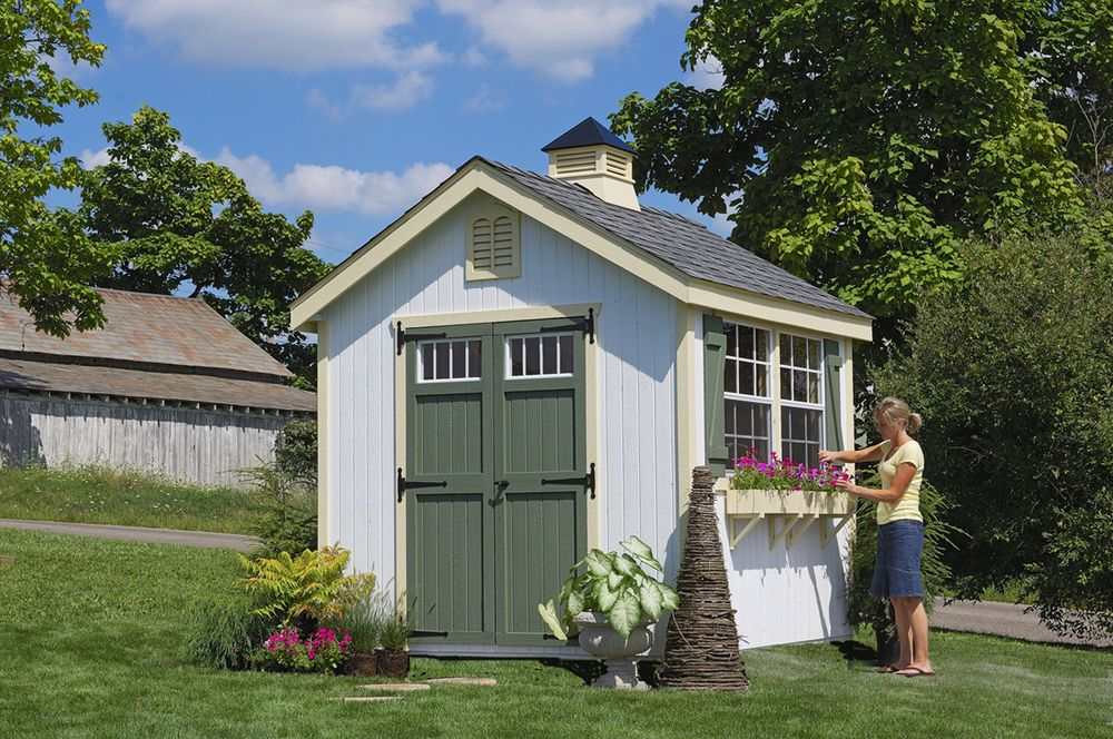 Little Cottage Company Colonial Williamsburg Wooden Storage Shed Littlecottagecompany Wooden Storage Sheds Building A Shed Garden Shed Kits
