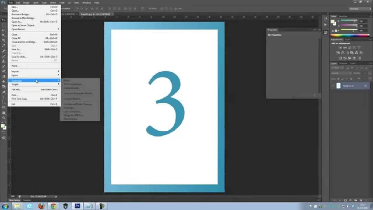How to create a multiple page pdf in photoshop cs6 how to how to create a multiple page pdf in photoshop cs6 baditri Images