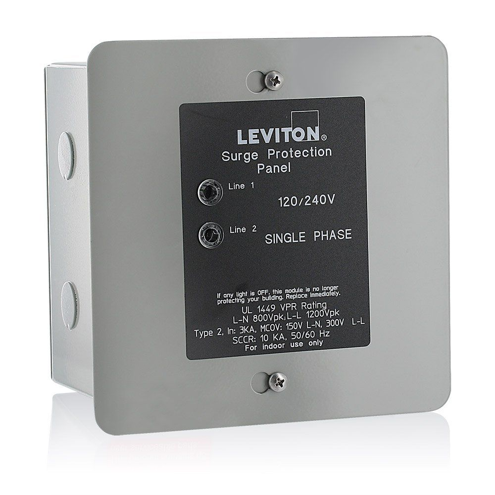 Top 10 Best Whole House Power Surge Protectors In 2019 Reviews Leviton Surge Protection Paneling