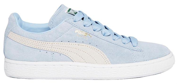 Baskets classique en daim bleu ciel Puma | Puma | Daim bleu
