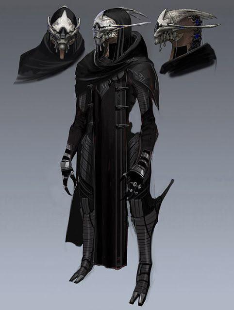 Arte Conceptual en Imagenes: Mass Effect (o Efecto Masita) Personajes, Ilustraciones y Arte Conceptual.
