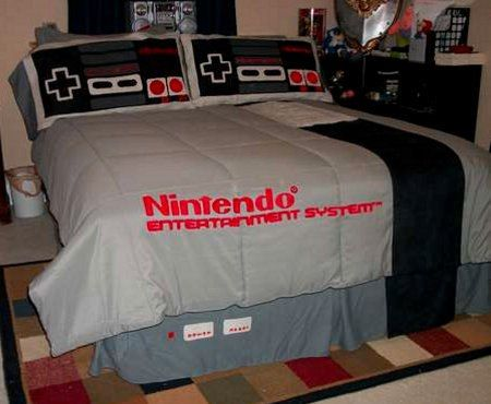 Nintendo Bedding And Skirt Matt Still Bed Spreads Creative