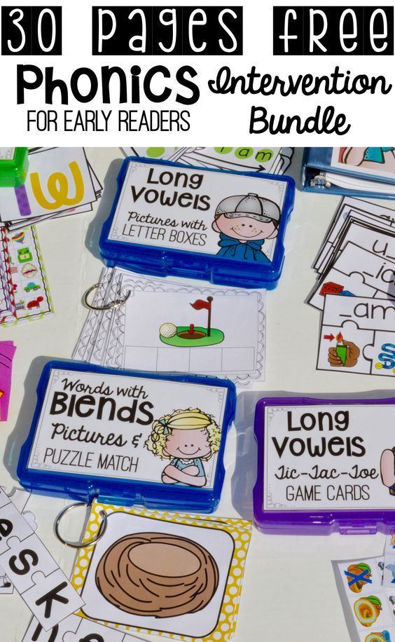 Phonics Intervention Free Download Speech Therapy Pinterest