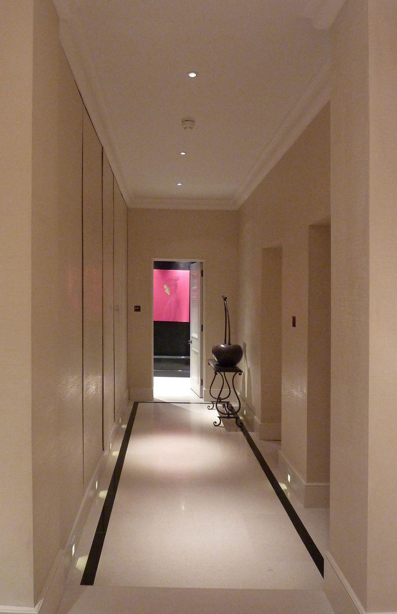 Corridor lighting design by John Cullen Lighting. Corridor lighting design by John Cullen Lighting    Lighting