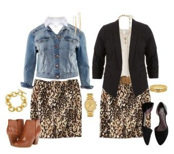 Photo of How to Wear a Plus Size Leopard Skirt {3 Ways} – Alexa Webb