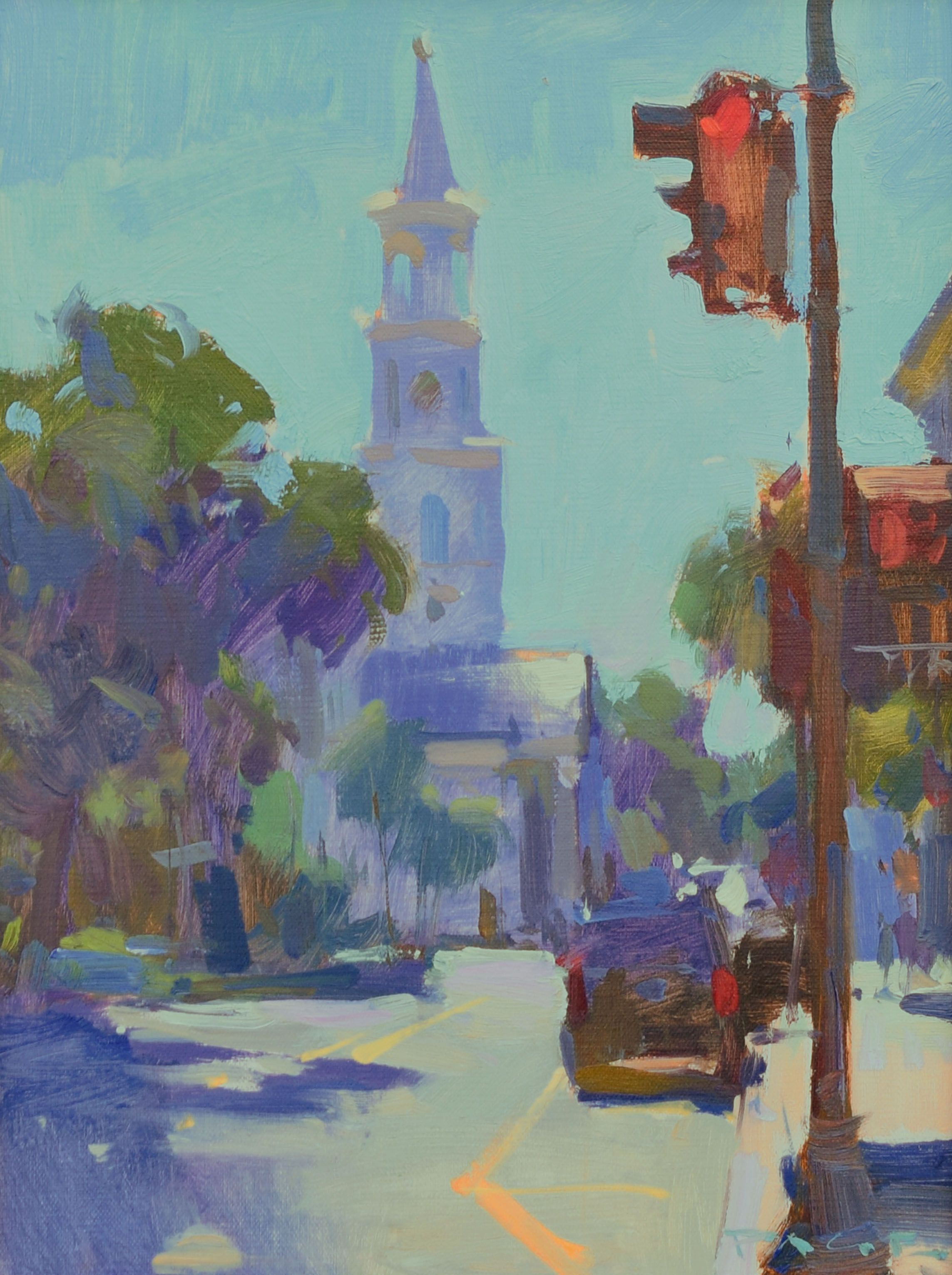 Colin page morning on meeting artwork anglin smith