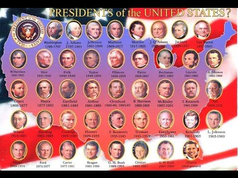 List of uspresidents including family genealogy for Who is the most famous president of the united states