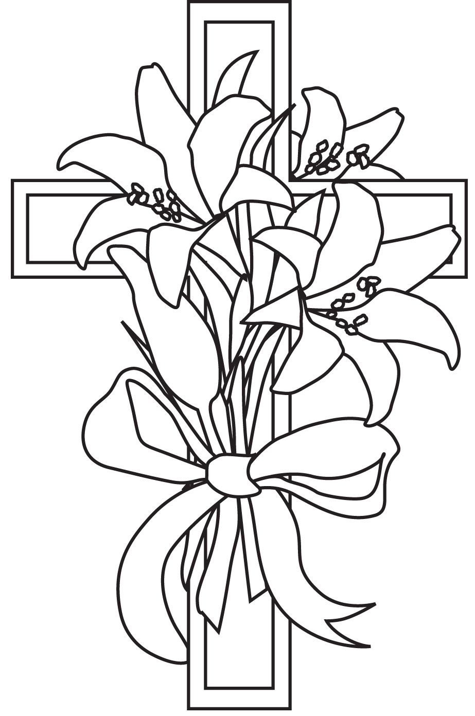 Related image Easter lily, Easter cross