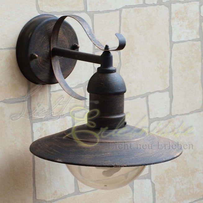 aussenleuchte f r die wand oslo antik wandleuchte pinterest lampen beleuchtung und aussen. Black Bedroom Furniture Sets. Home Design Ideas