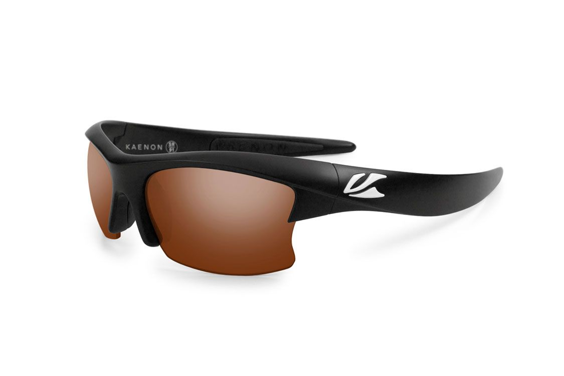 Kaenon 'S-Kore' in Matte Black w/ C12 Polarized Lens. #Kaenon Polarized Sunglasses. Sport-Performance Eyewear.
