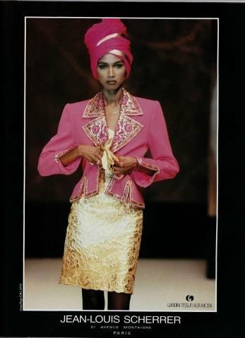80's Couture - Jean Louis Scherrer