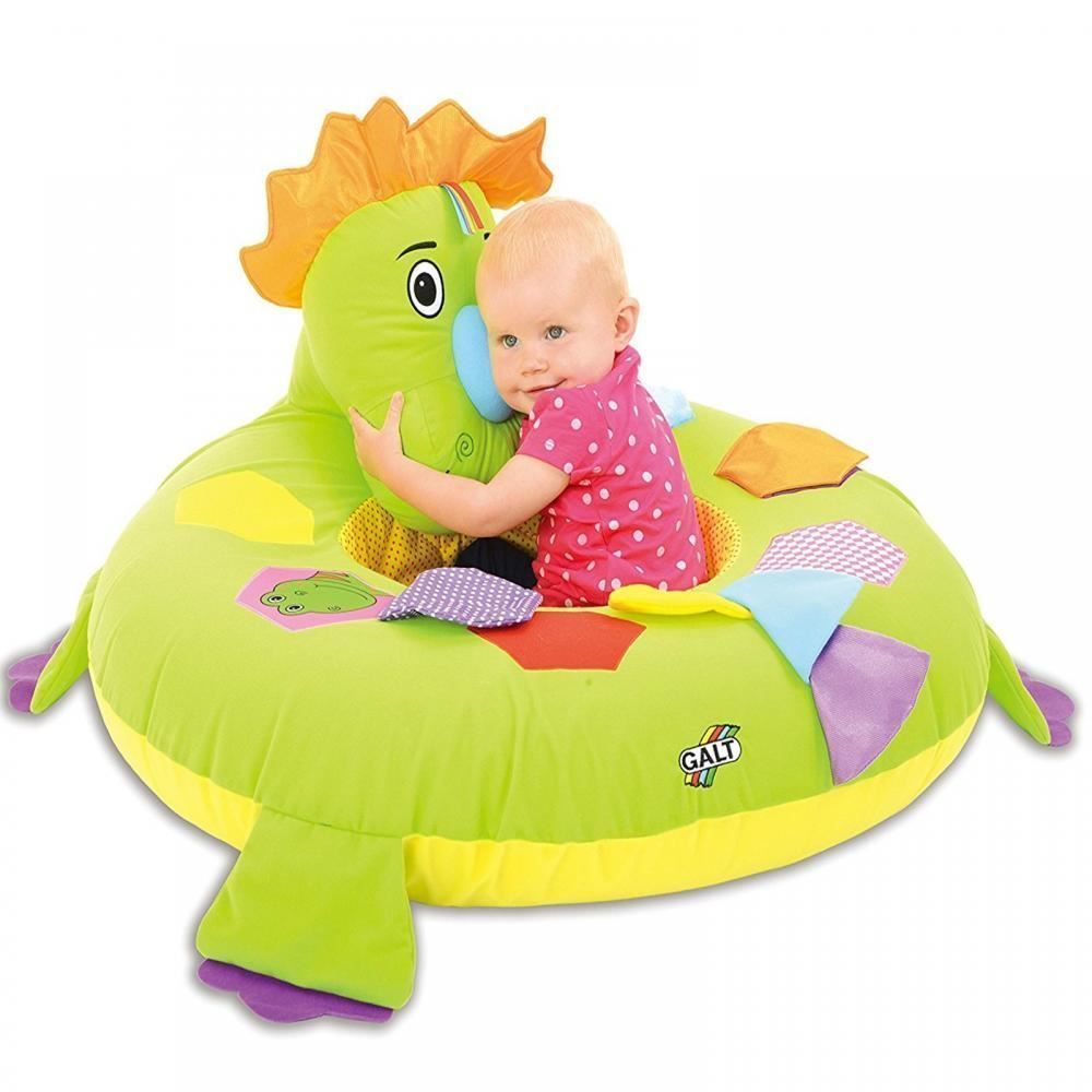 Galt Inflatable Dino Playnest Baby Bed Play Toy Seat Dinosaur Chair ...