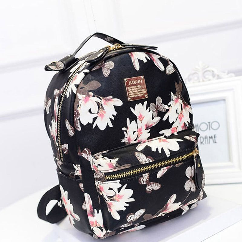 Women Backpack 2016 Hot Sale Fashion Causal High Quality Floral ...