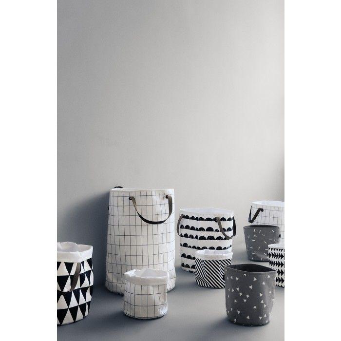 ferm LIVING Grid Laundry Basket