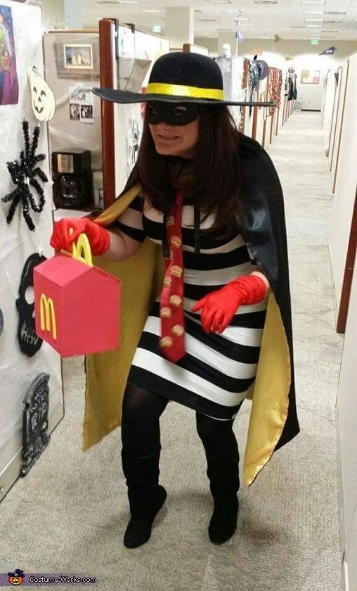 The Hamburglar - Halloween Costume Contest at Costume-Works.com #halloweencostumes