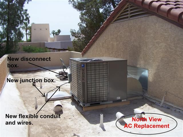 This Particular Air Conditioning Replacement Is A 3 5 Ton 14 Seer Rooftop Heat Pump This Installation Was Done For A Cus Ac Replacement Ac Cleaning Ac Service