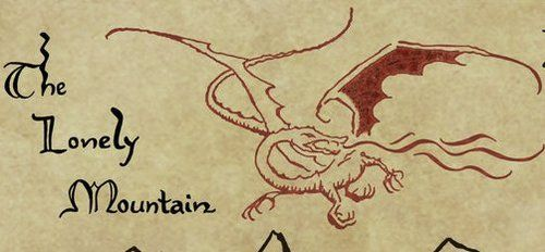 how to draw the lonely mountain for beginners
