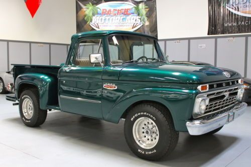 1966 Ford F100 Twin I Beam Side Step Restored 360 Engine
