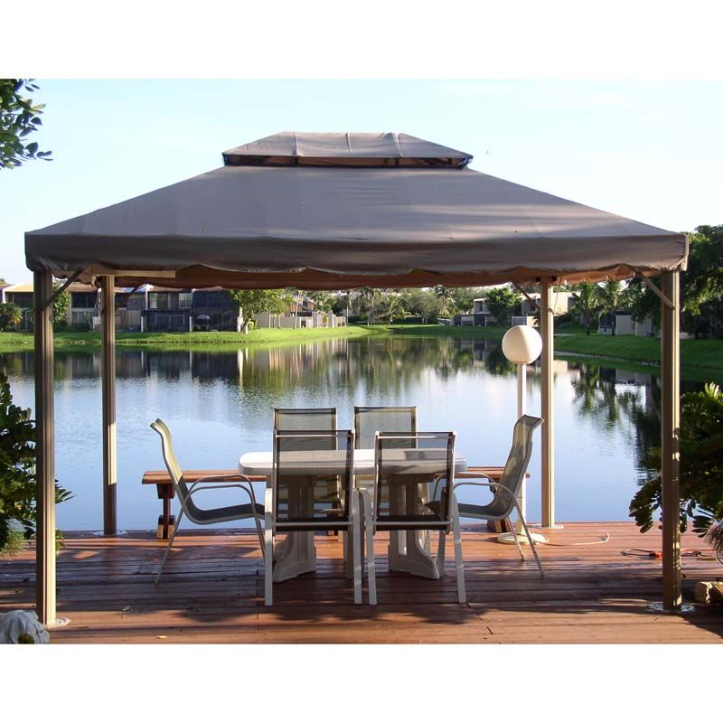 BJs Wholesale Bond 10 x 12 Gazebo Canopy Replacement  sc 1 st  Pinterest & BJs Wholesale Bond 10 x 12 Gazebo Canopy Replacement | For the ...
