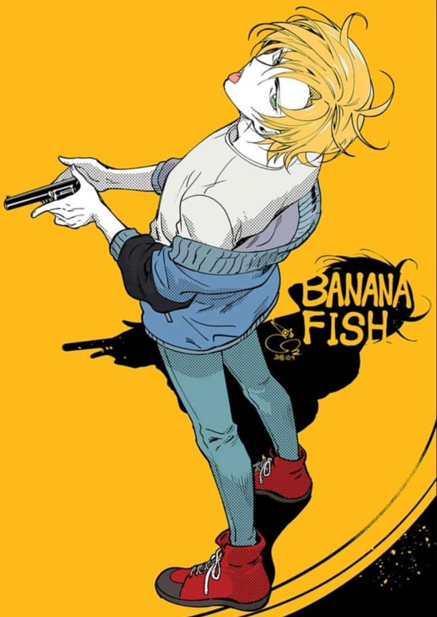 Pin by Inu Fry on banana fish Banana, Anime, Fish