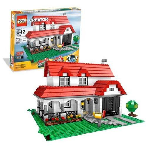 Lego Creator House 4956 3 In 1 Retired Discontinued In Original Sealed Box Lego Creator House Lego Creator Cool Lego Creations