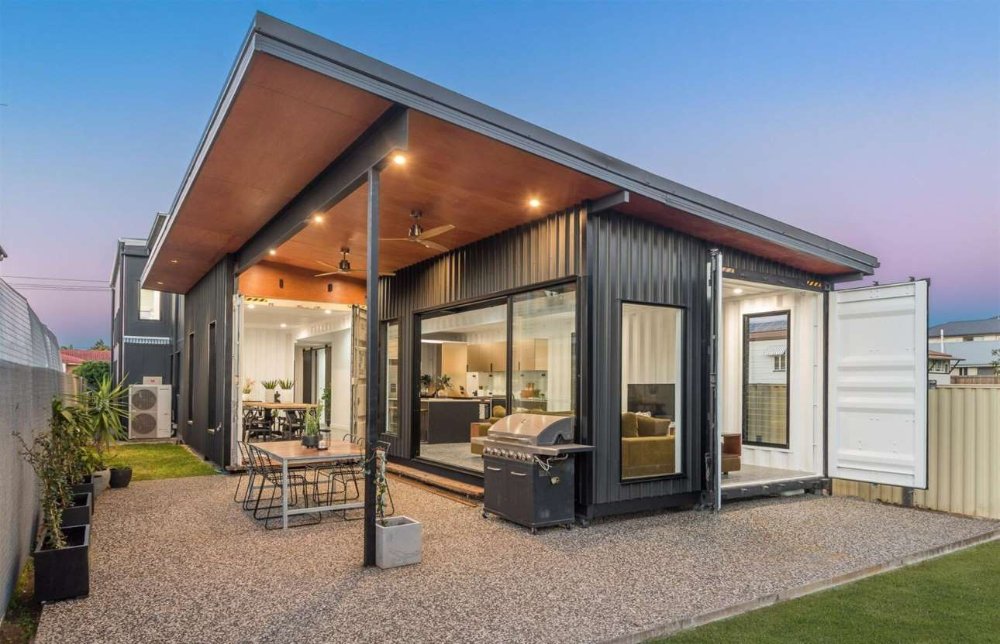 Two Story Container Home Queensland Australia Domain Container Homes Australia Container House Shipping Container