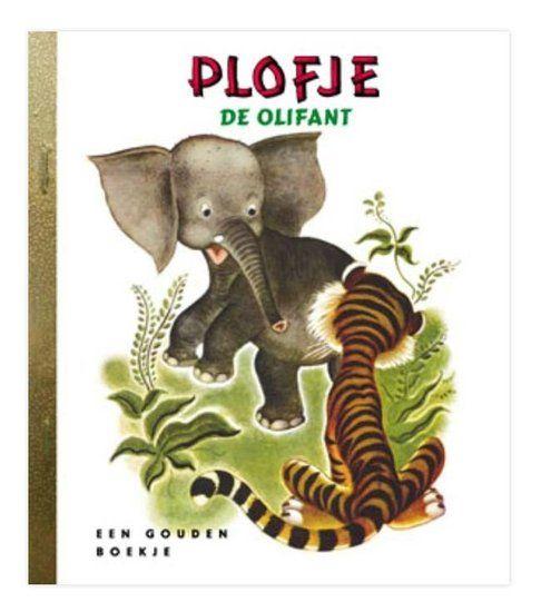 Plofje de olifant   Gouden Boekje -De Oude Speelkamer
