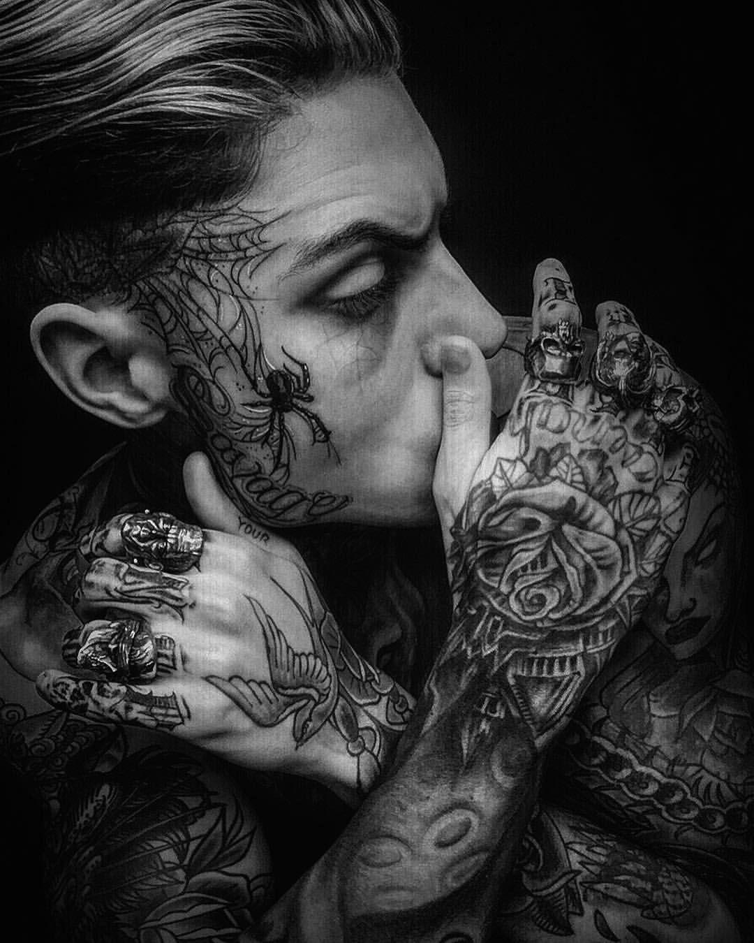 Pin On Tattooed Heads