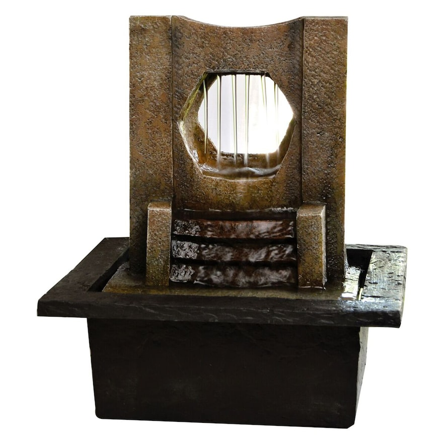 Jeco Lighthouse Tabletop Fountain
