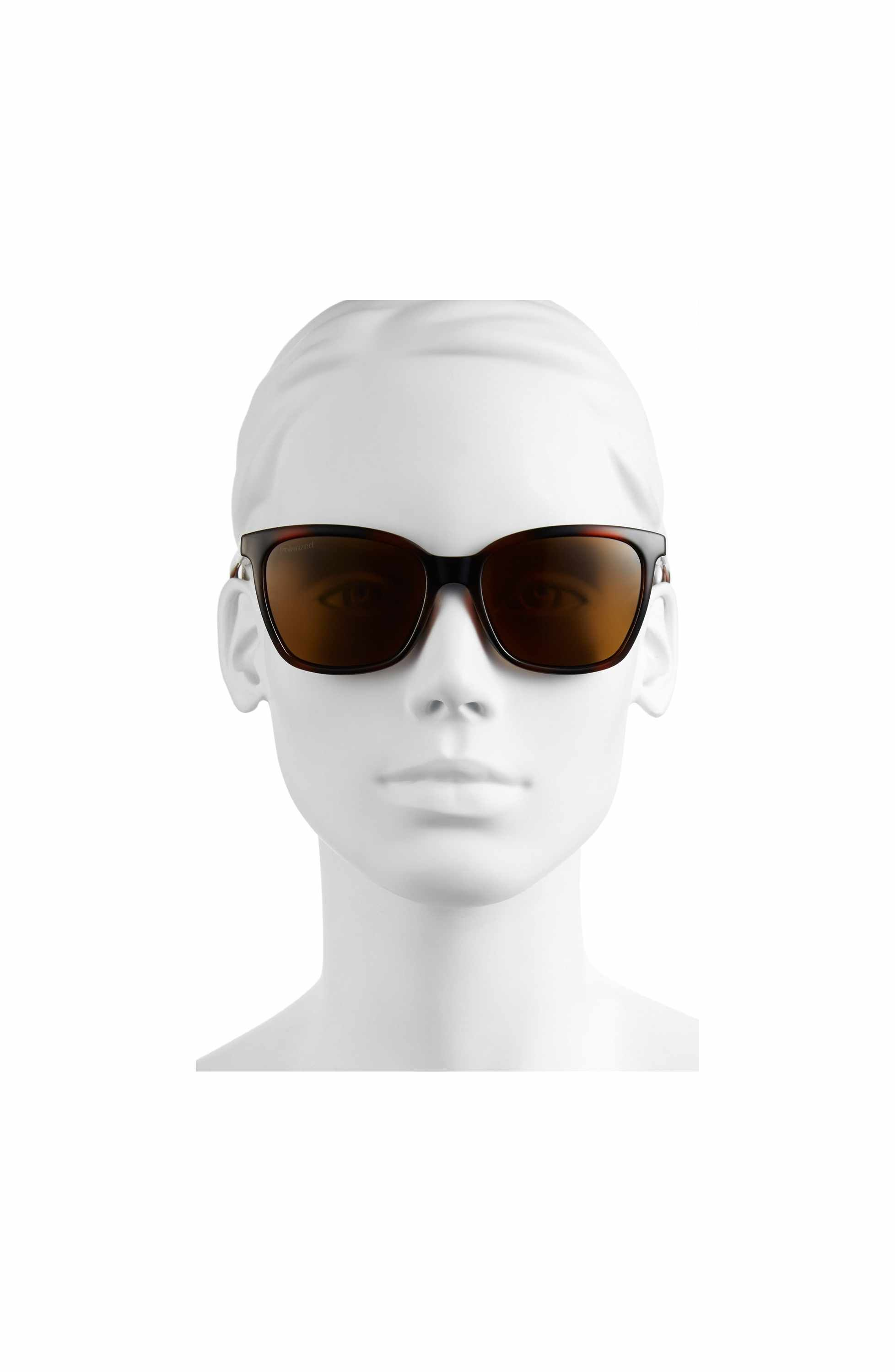 4237295737 Main Image - Smith  Colette  55mm Polarized Sunglasses