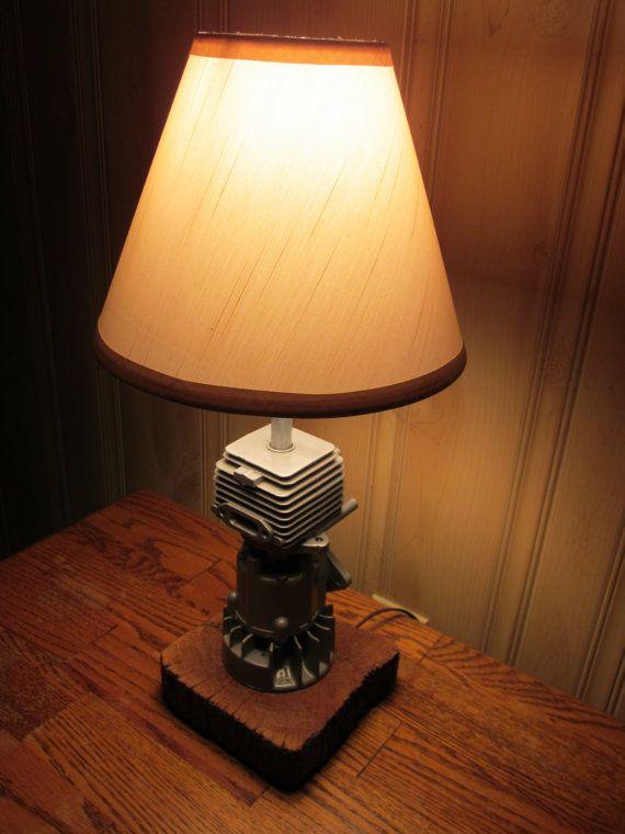 Engine Lamp Lamp Industrial Lamp Automotive Decor