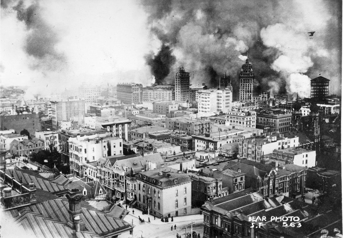 an introduction to the history of the san francisco earthquake Introduction this volume is a  earthquake history with emphasis of the section of the fault that ruptured in the great san francisco earthquake of 1906.