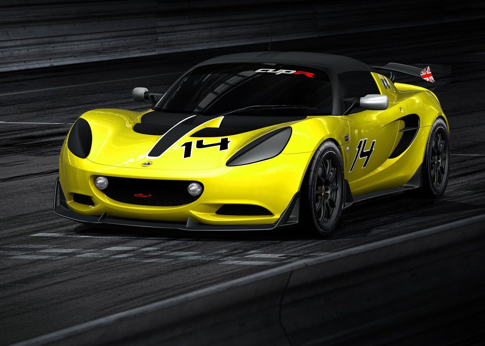 Image for 2014 Lotus Elise S Cup R Front Angle Cars Lotus