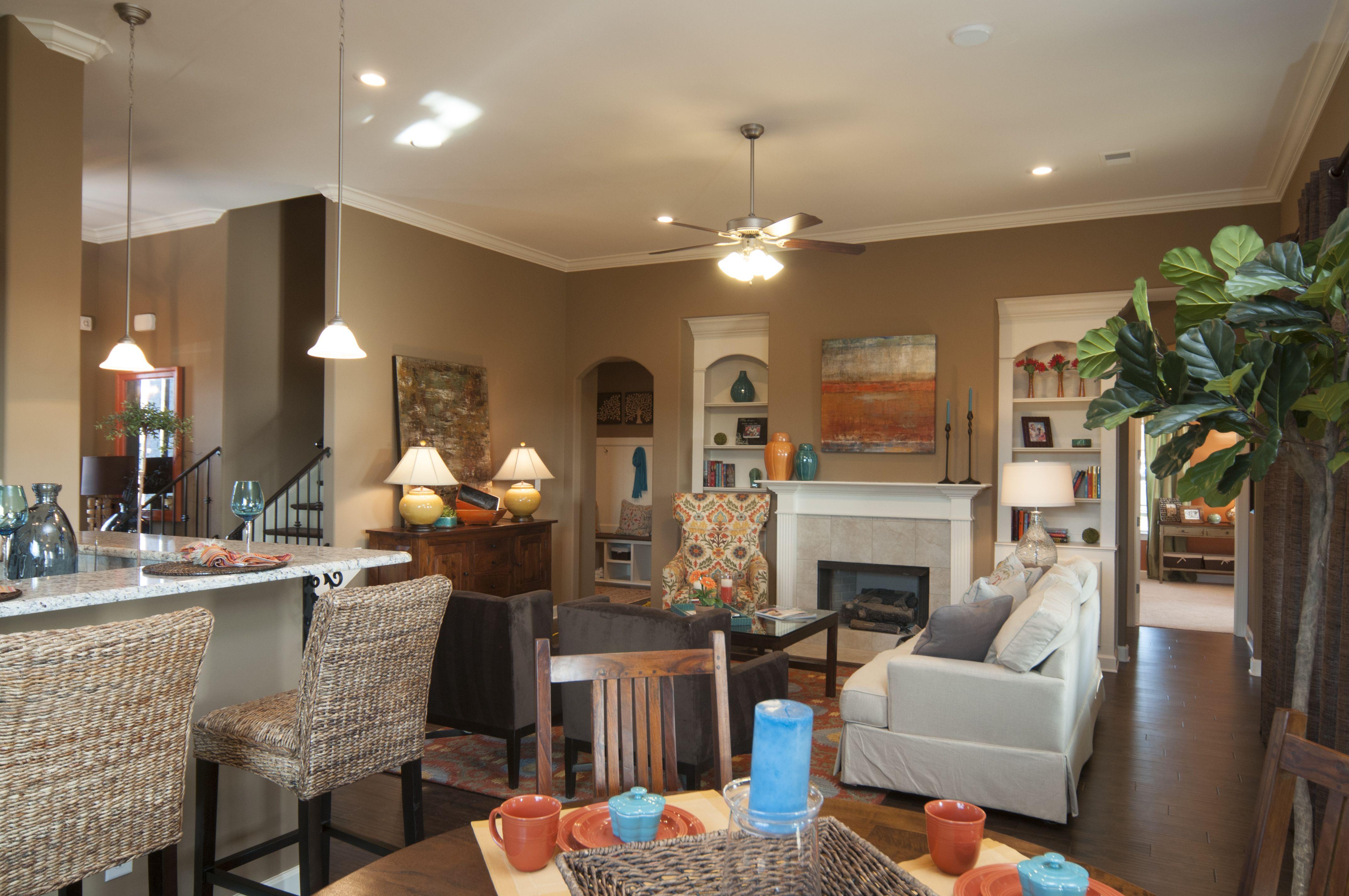 Regency Homebuilders Open Concept Living, Neutral, Hand