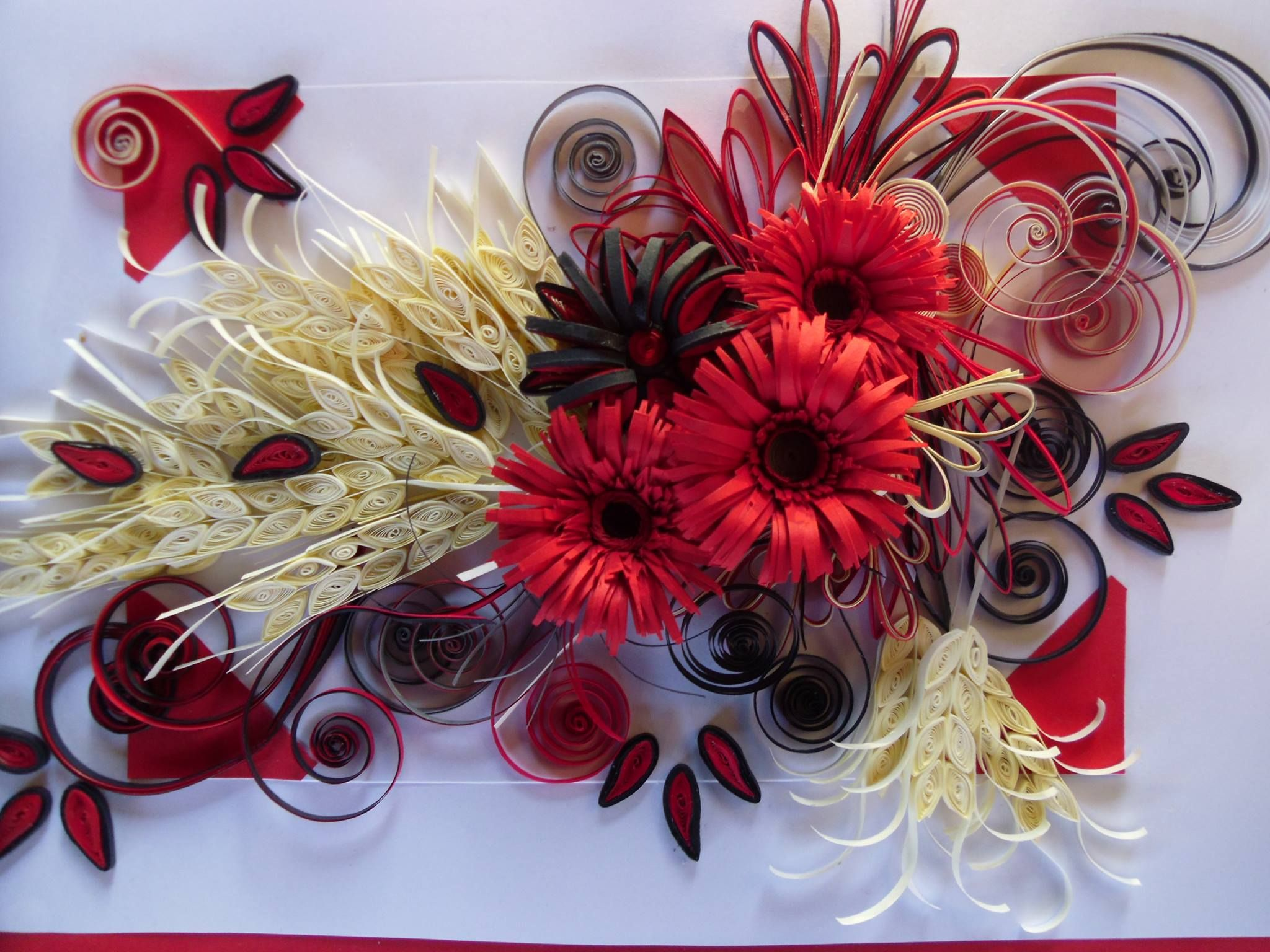 This is my hand work quilling art by bmiletic pinterest this is my hand work mightylinksfo