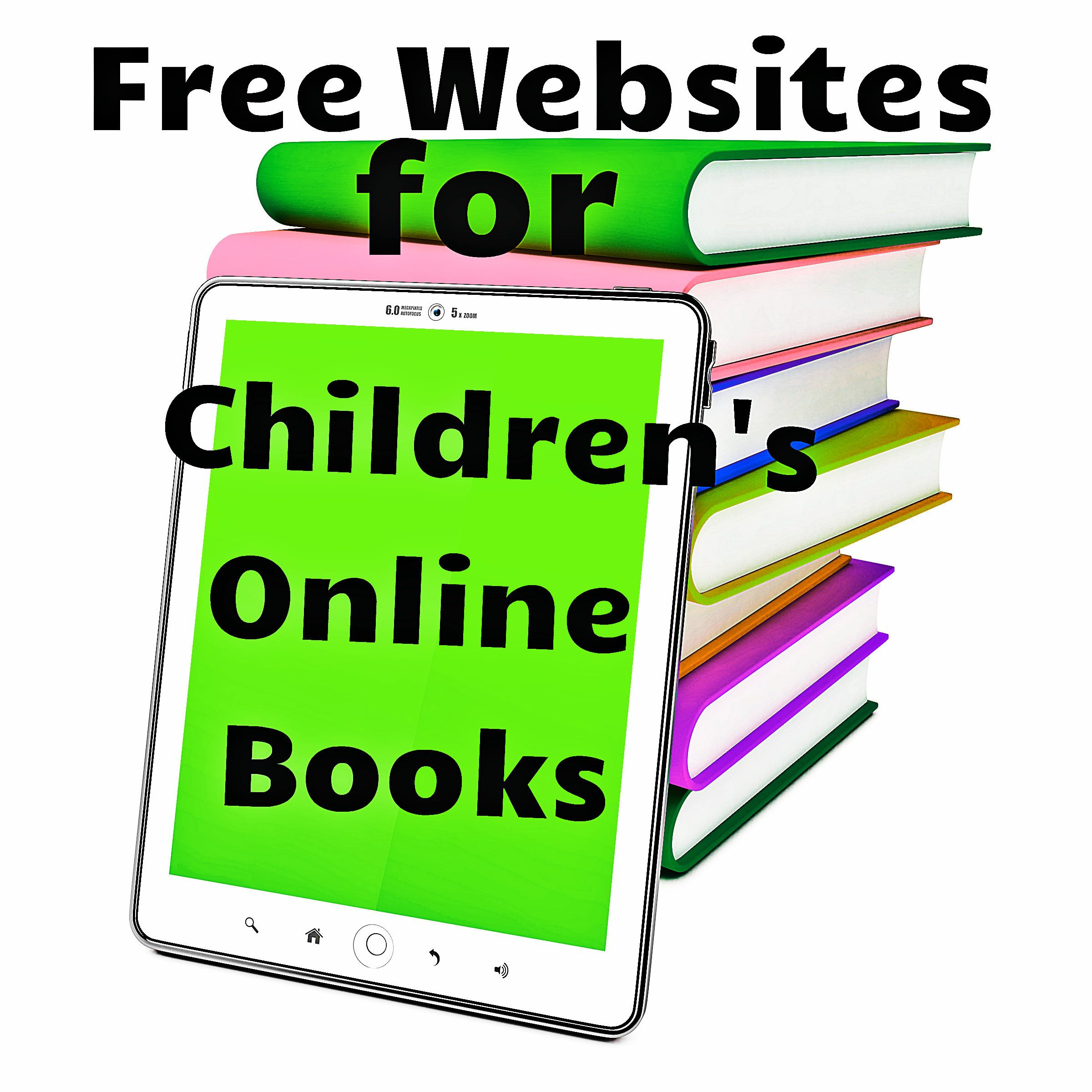 Sites for Children's Online Books (With images) Online