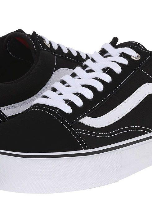 Sports * Vans Old Skool Black White Mens Skate Shoes