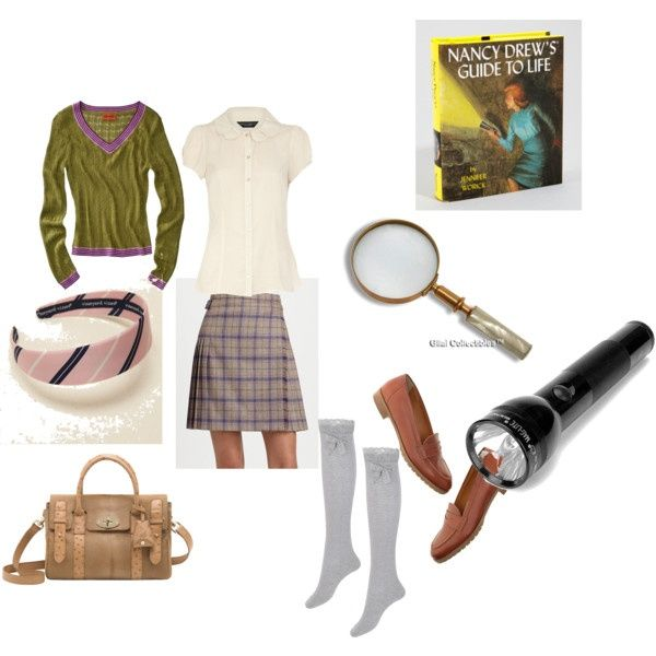 nancy drew clothes  nancy drew costume