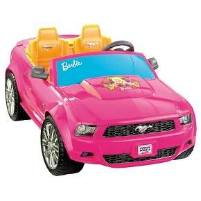 Fisher-Price Power Wheels Barbie Ford Mustang : Target
