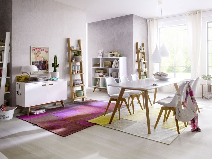 Eetkamer sixties domo meubelen deco interior design