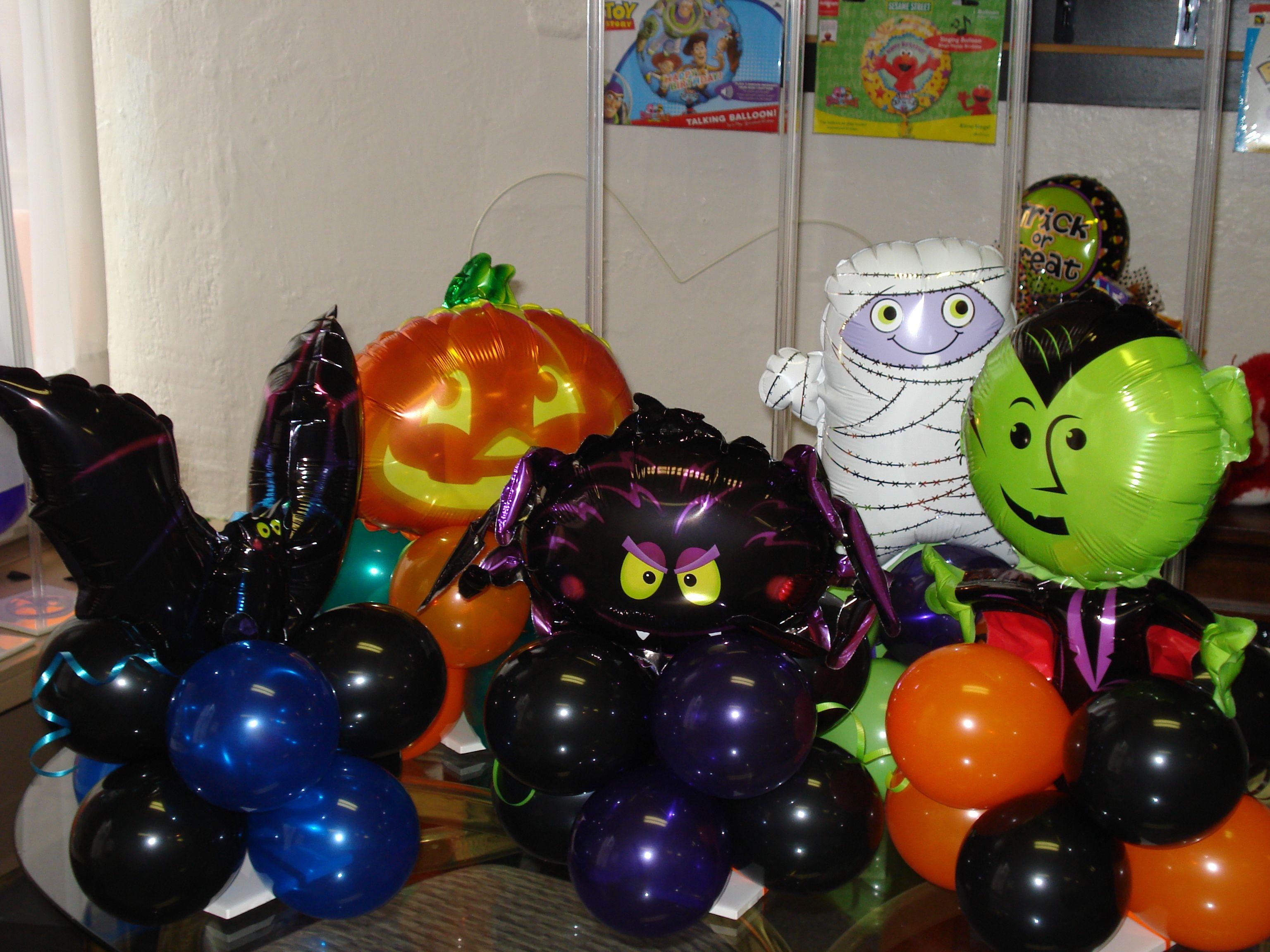 Halloween centerpieces www.balloonatics.info