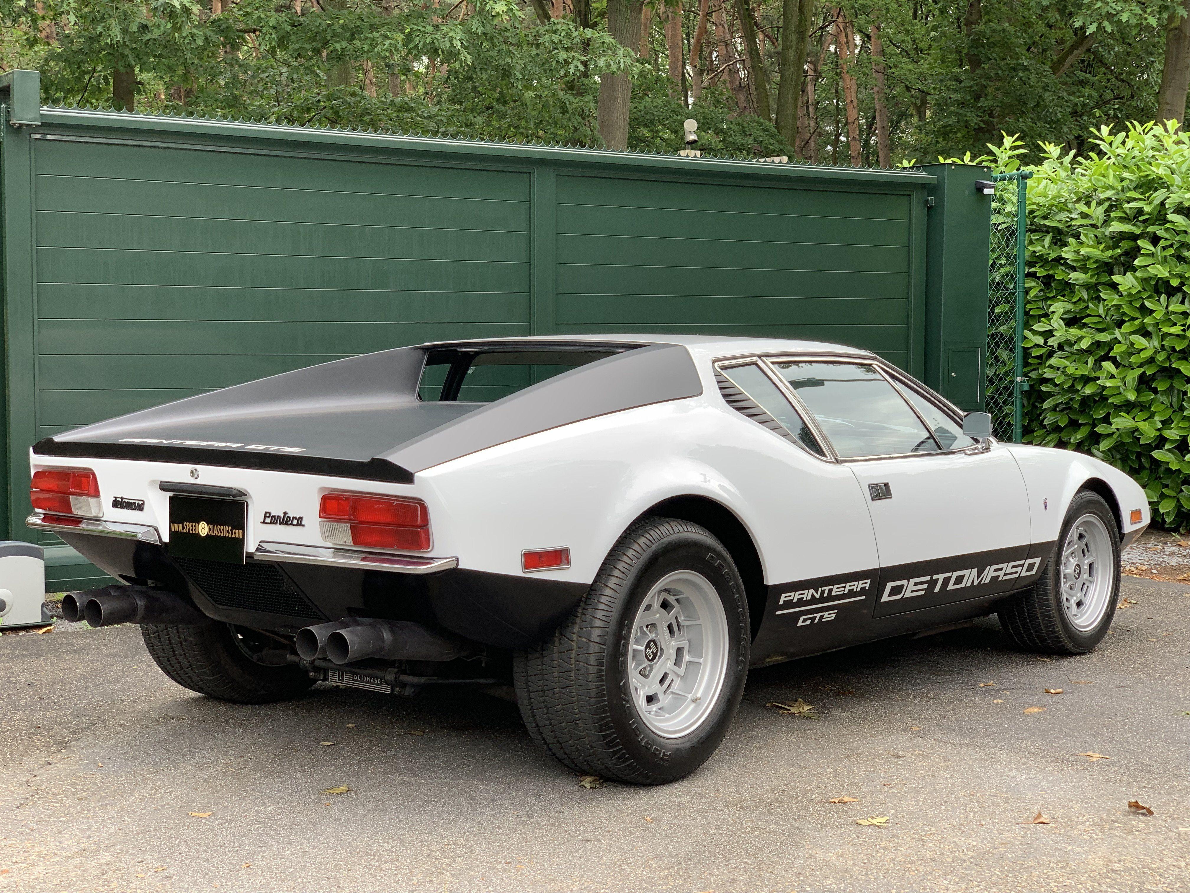 1972 De Tomaso Pantera Gts Classic Driver Market Dream Cars Classic Cars Classic Sports Cars