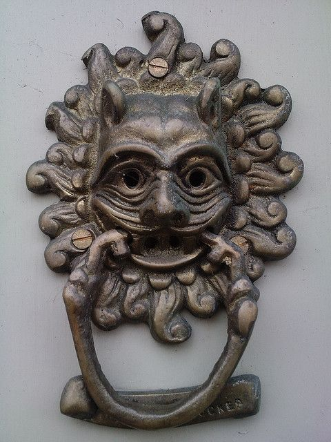 Dishfunctional Designs: Knock Knock: Who's There? Awesome Antique Door  Knockers - Dishfunctional Designs: Knock Knock: Who's There? Awesome Antique