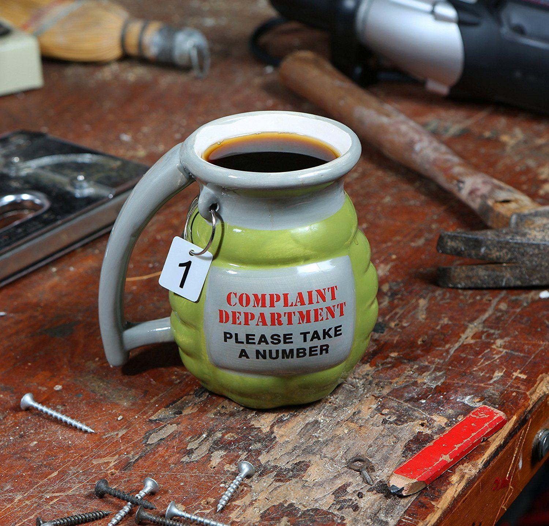 Grenade Mug https://amazingmusthaves.com/products/grenade-mug ...