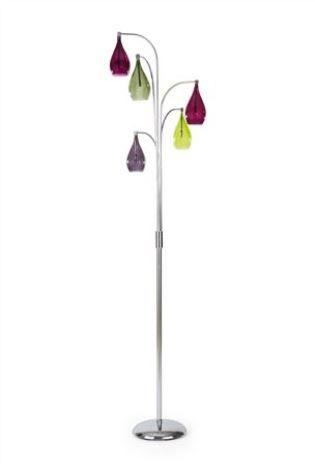 Hanbury Plum Funky Floor Lamp | Next | Lighting Solutions For Your ...