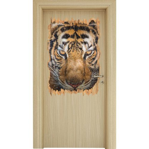 Tiger With Light Brown Eyes Wall Sticker East Urban Home Wall Stickers Wall Stickers Home Wall