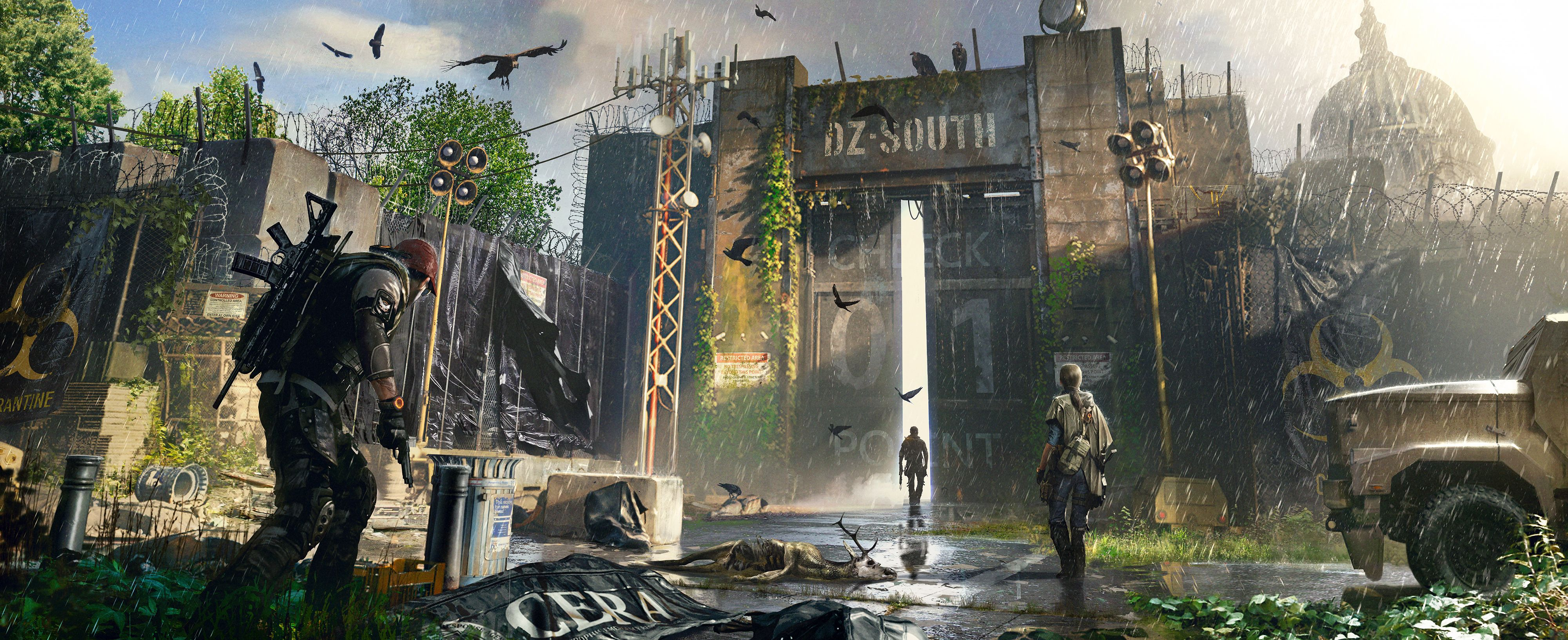 The Division 2 Dark Zone Concept Art Forums In 2019